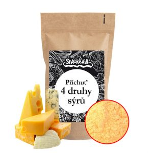 Popcorn příchuť 4 druhy sýrů 100g